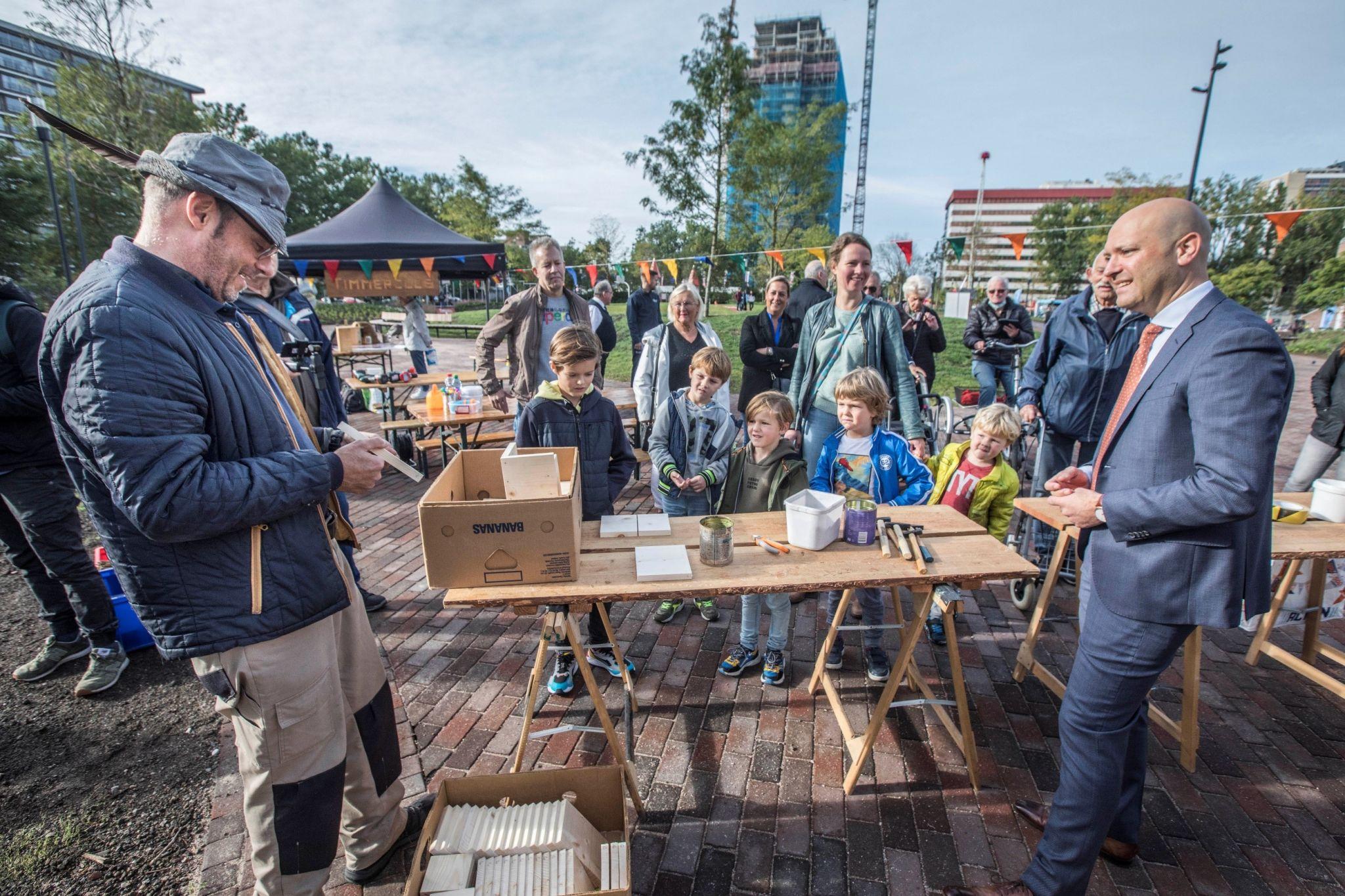 Opening vernieuwde Bogaardplein