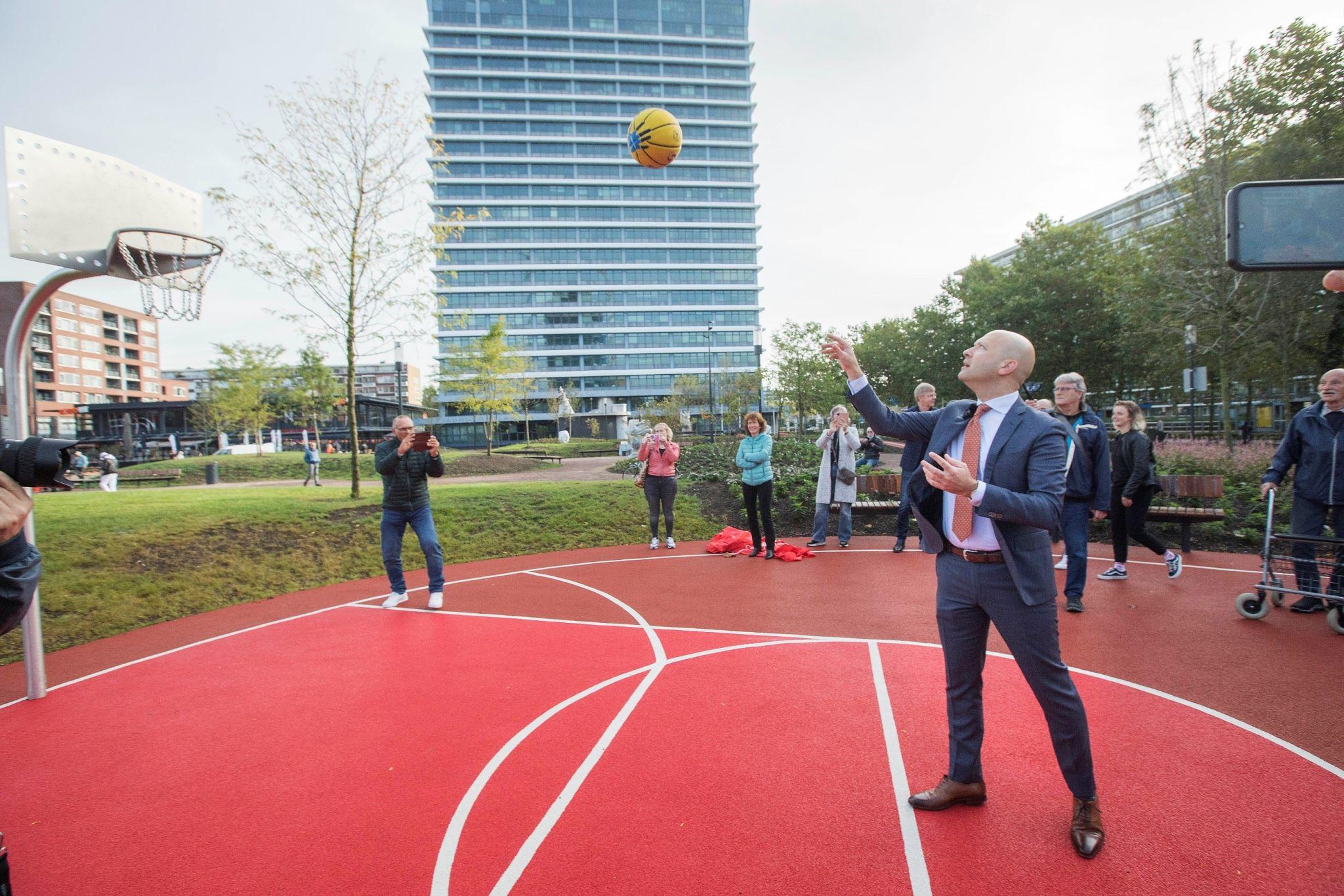Basketbalveld Bogaardpelin